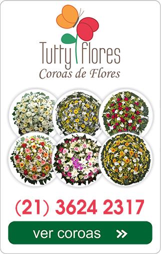 coroa de flores crematório do cajú